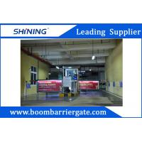 Quality Waterproof Remote Control Parking Lot Boom Advertising Barriers For Outdoor wholesale