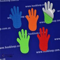 Quality Hands Shaped Self Adhesive Hook And Loop Tape Soft  Velcro Sticky Back Fasteners wholesale