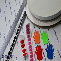 Quality 40% Nylon & 60% Polyester Hook And Loop Tape Self Adhesive , Colored 2 Sided Velcro Tape wholesale