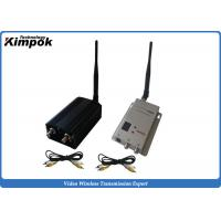 Buy cheap 1200Mhz Analog Wireless Video Transmitter 2000mW Security Long Range Video Sender 8 Channels from wholesalers