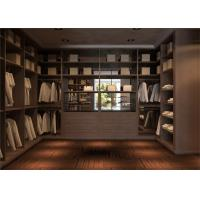 Buy cheap Blum Soft Closing Hardware Walk In Closet Organizer Easy Assemble Structure from Wholesalers