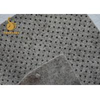 Quality Needle Punched Felt Anti-Slip eco friendly Nonwoven Fabric with PVC Dots wholesale