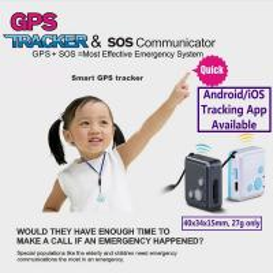 Buy cheap Mini GSM GPS Tracker Child Kids Elderly SOS Emergent Help Communicator Sender W/ Microphone Speaker for 2-Way Phone Talk from Wholesalers