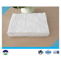 Buy cheap Polester Filament Geotextile Drainage Fabric High Strength White from Wholesalers