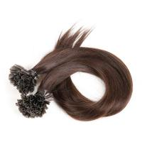 China U Tip Real Human Clip In Hair Extensions Straight , Remy Fusion Extensions on sale