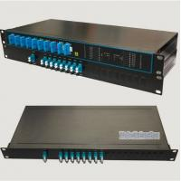 Buy cheap CWDM / DWDM Mux/Demux Packed in 19 Inch IU Rackmount from wholesalers