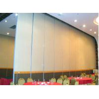Buy cheap Sliding Door Track Rollers Acoustic Fabric Surface Commercial Movable Partition Wall from wholesalers
