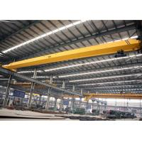 Buy cheap Single Girder Overhead Crane With Electric Hoist , Workshop Electric Bridge Crane from Wholesalers