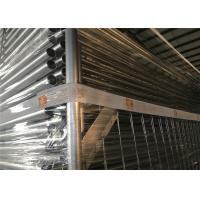 Buy cheap 14 microns hdg zinc Construction Temp Fence Panels OD 32mm wall thick 1.40mm smart diameter 3.00mm weight 14kg minimum from wholesalers
