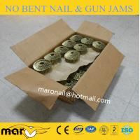Buy cheap 15 degree 32mm Coil galvanized roofing nails from Wholesalers