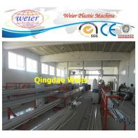 Buy cheap Door / Window PVC Profile Extrusion Line Rain Gutter Machine With Lamination Machine from wholesalers
