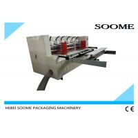 Buy cheap Vacuum Feeding Thin Blade Slitter Scorer Machine Automatic Creasing With Pre Creaser from Wholesalers
