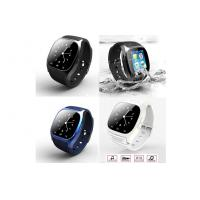 Stopwatch Clock Bluetooth Smart Wrist Watch Phone With Speaker / Receiver