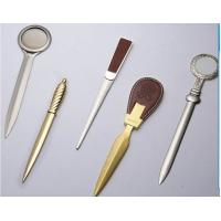 China Popular zinc alloy gold / silver metal letter opener for promotion on sale