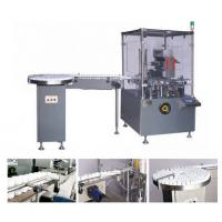 China Fully Automatic Cartoning Machine For Vial , Speed 30-120 Boxes/min on sale
