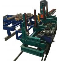 Buy cheap Timber Sawmill Machine Wood Cutting Vertical Band Saw Machine Band Saw Carriage from wholesalers