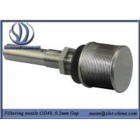 Buy cheap Long-necked Filter Nozzle With V shape Profile Wire Screen Element from Wholesalers