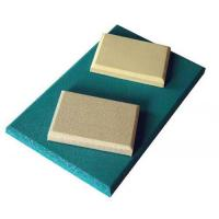 Sponge Eco-friendly Base Acoustic Fabric Panels 2440 * 1220mm for Office