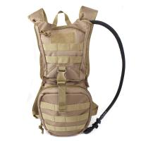 Quality Tactical Hydration Pack Backpacklightweigh With 2.5L Bladder , Multifunctional water bag wholesale