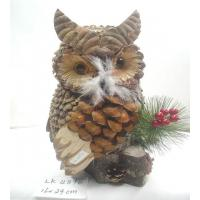 Buy cheap Handicraft owl,easter decoration,easter gifts,easter ornament,garden decoration,Holiday decorations from Wholesalers