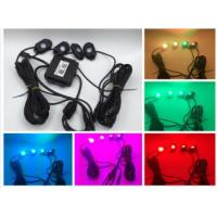 China new led rock lights IP68 waterproof mini rock light for cars .off road rgb rock lights on sale