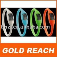 Buy cheap silicone ion digital watch from Wholesalers