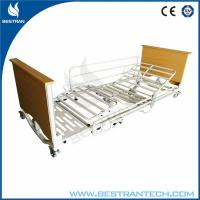 Buy cheap 5 Function Adjustable Home Hospital Beds Medical With Cross Brakes Wheels from Wholesalers