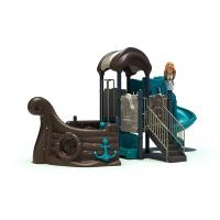 Buy cheap Sea Sailing Theme Outdoor Play Structures , Outdoor Climbing Childcare Playground Equipment from Wholesalers