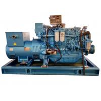 Buy cheap Water Cooling Rated 90KW Marine Diesel Generator with Three Phase Electric Start from Wholesalers