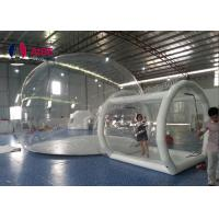 Quality Tunnel Movement Hotel House Clear Bubble Tent / Inflatable Lawn Tent for sale