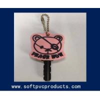 Buy cheap Key Cover Promotional Gifts Soft PVC Keychain / Lovely Bear Personalized Key Chains from Wholesalers