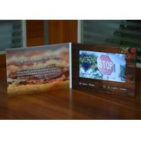 Buy cheap Digital innovational paper card 7inch screen digital business advertising card lcd video brochure for promotional plan from Wholesalers