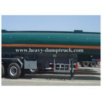 25 to 60 CBM Fuel / Oil Tank Semi Trailer Truck Aluminum and stainless steel optional