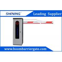 Buy cheap 3S Lifting Time Intelligent Car Parking Lot Barrier Gate With Folding Arm from Wholesalers