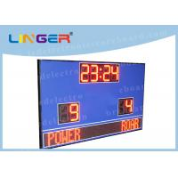 Quality Waterproof Cabinet With Wireless Controller Led Football Scoreboard for Outdoor Use wholesale