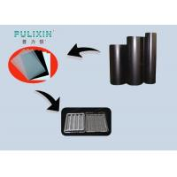 China Black High Gloss Plastic Sheet  at 2mm , High Impact Polystyrene Sheet in Roll on sale