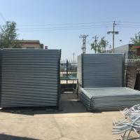 Buy cheap Chepaest Temporary Fencing panels 2000mm x 2200mm width OD 32 pipes suit for new zealand market from Wholesalers