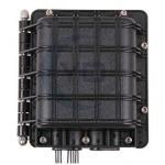 Buy cheap 12 Core Inline Horizontal FiberOpticSpliceBox For FTTH / Fiber Splice Closures from Wholesalers