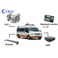 Buy cheap 2 Mega Pixel LED Vehicle Mounted CCTV Cameras PTZ Outdoor Security System from Wholesalers