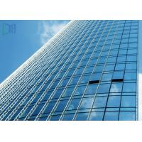 Quality Reflective Glass Aluminium Glass Curtain Wall For Commercial Building ISO 9001 Certificate wholesale