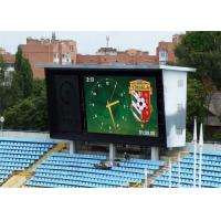 Buy cheap 16mm x 16mm P10 Sports Stadium LED Display Advertising Field from Wholesalers