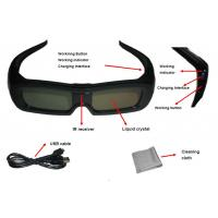 Family Universal Active Shutter 3D Glasses USB Charge Reset Function