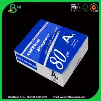 Buy cheap 100% Good Feedback Custom Design Cost-Effective White A4 Paper 80Gsm from Wholesalers