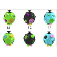 Quality Magic Fidget Cube Relieves Squeeze Fun , Anxiety and Stress Cube Juguet Desk Spin Toys wholesale