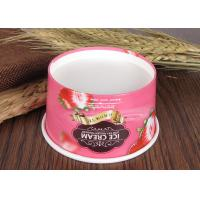 Quality Logo Printing Branded Ice Cream Cups Christmas Paper Soup Bowls OEM ODM for sale