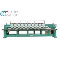 Buy cheap Towel / Garment Industrial Automatic Flat Embroidery Machine 10 Head 9 Needle from wholesalers