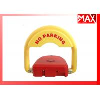 Buy cheap Automatic Car Parking  Locks IP68 Waterproof  Red Color  with Battery 2 Remote Control from wholesalers