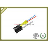 2 Core FTTH Fiber Optic Cable Aerial Drop Cable With FRP Strength Member For Outdoor