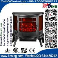 Electric Fireplace Heater 3 Sided Freestanding electric Stove SF-23 Log flame effect INDOOR HEATER room heater