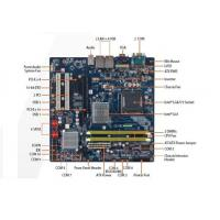 Buy cheap BCM MX41G Supports LGA 775 CPU 1333MHz FSB DDR2 667 / 800M Industrial Panel PC Touchscreen from Wholesalers